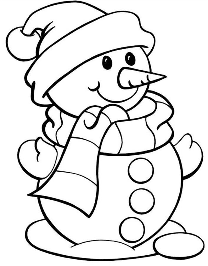 705x900 Merry Christmas Drawing Snowman Pictures