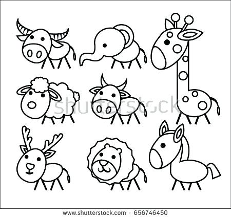 450x428 Coloring Book Outlines Farm Animal Coloring Page Of A Pig Coloring