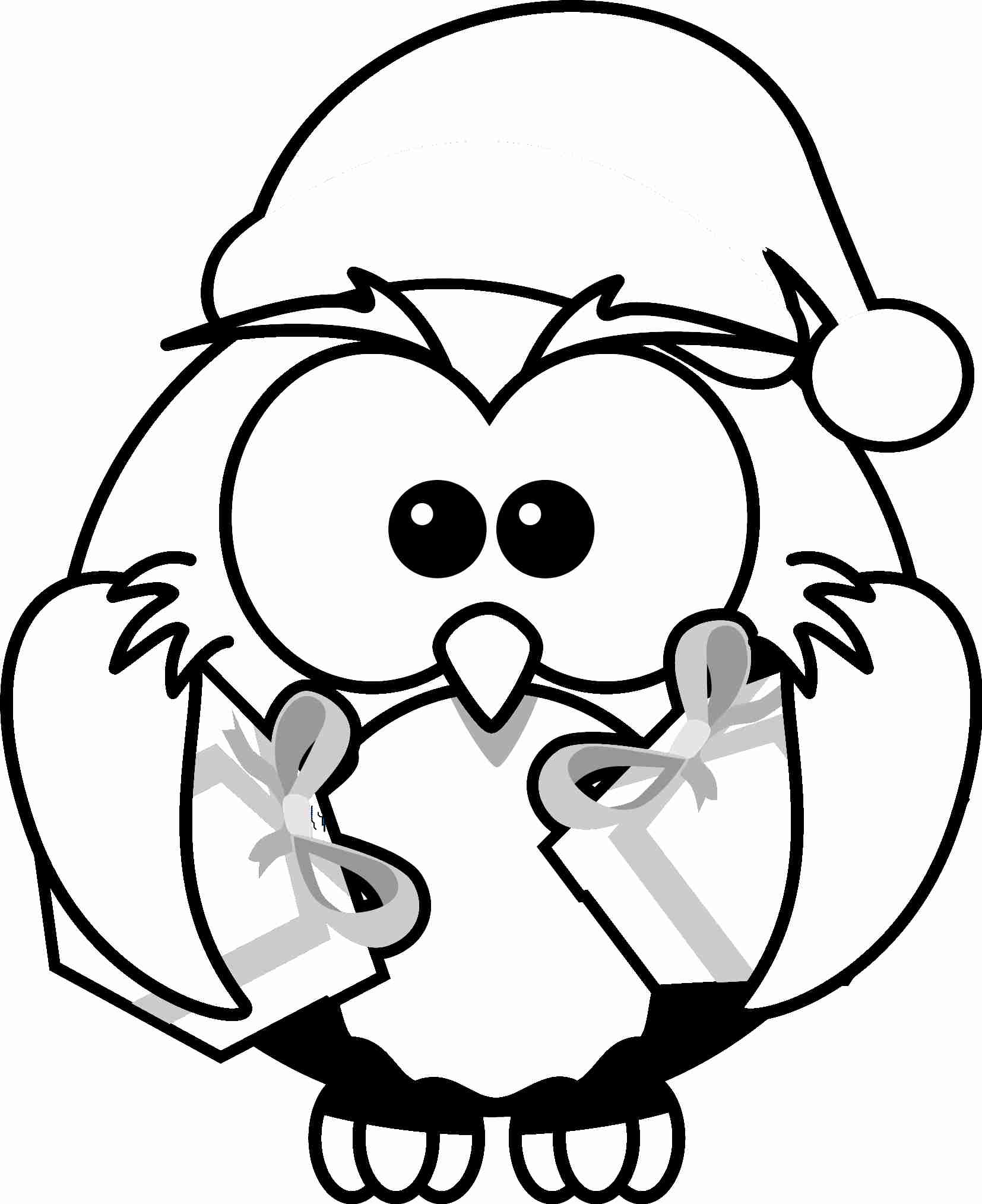 Christmas Drawing Pages At GetDrawings