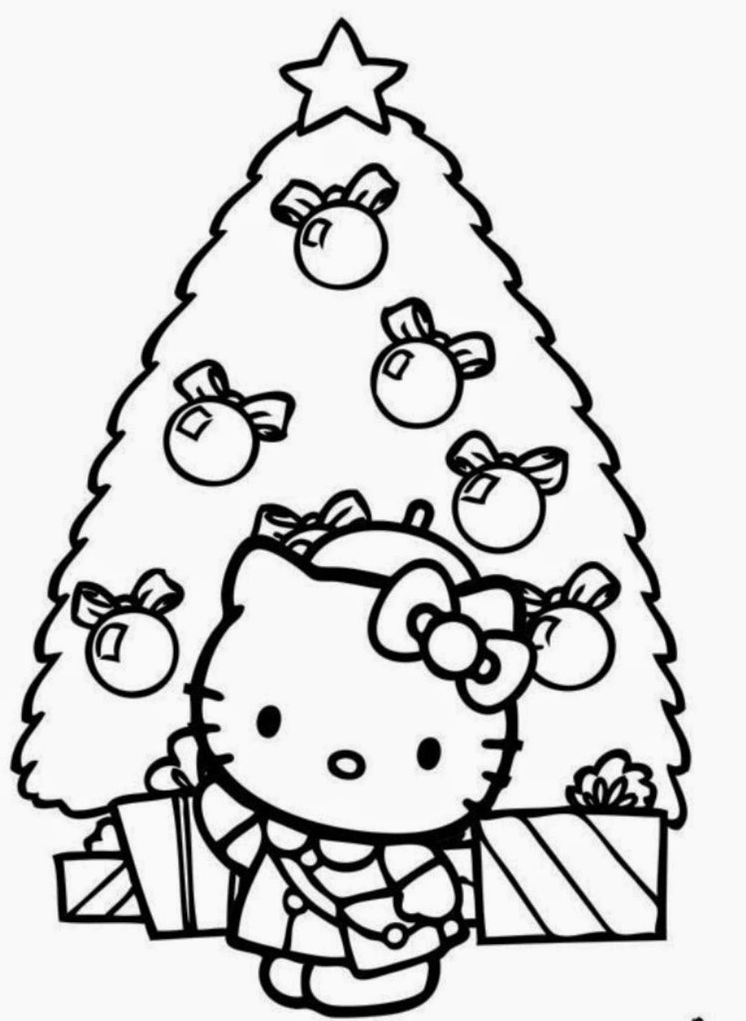 1085x1485 Free Printable Hello Kitty Coloring Pages Party Invitations