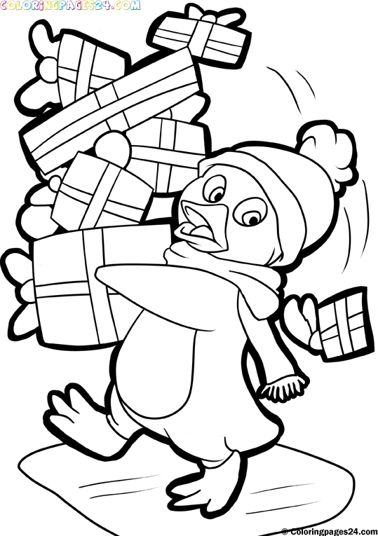 539x765 Free Printables Santa And Christmas Themed Coloring Pages
