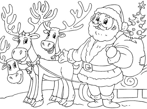 600x447 Christmas Festival Drawing Pictures