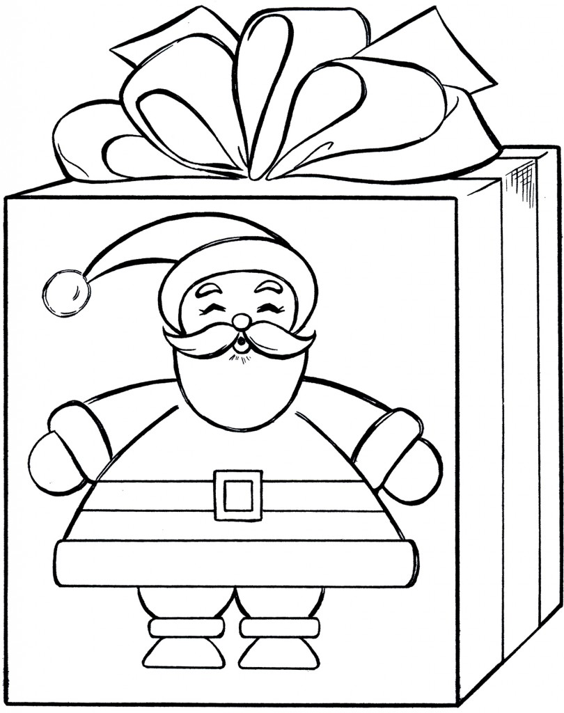 Christmas Gift Drawing at GetDrawings.com | Free for personal use ...