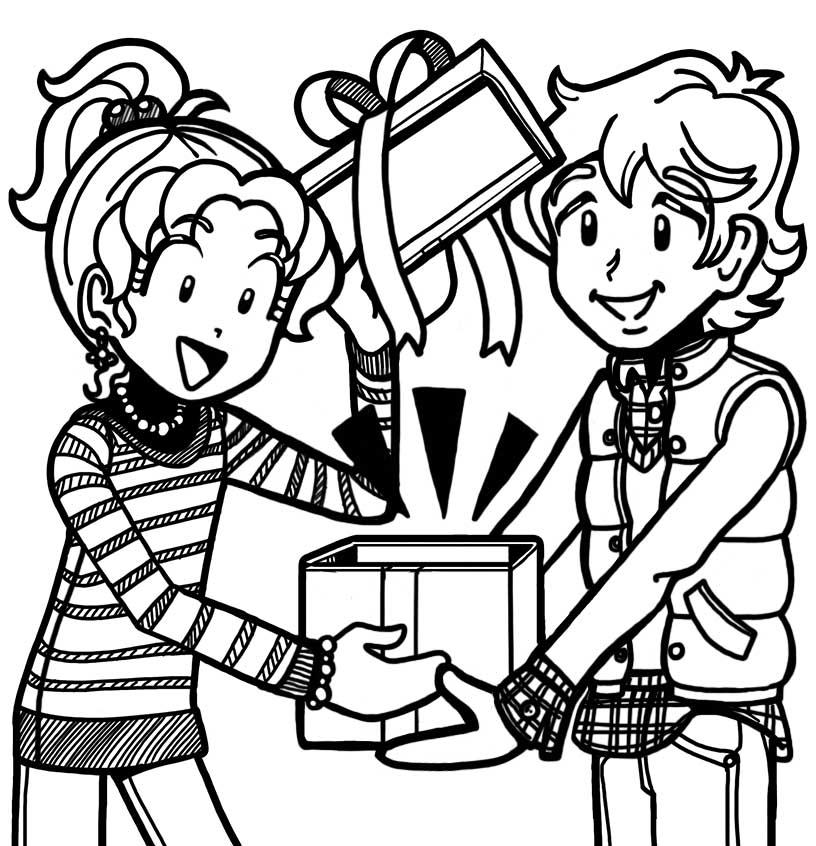 816x846 Fan Story About Brandon's Christmas Gift Dork Diaries