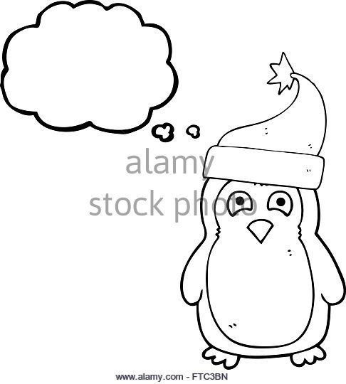 486x540 Robin Wearing Santa Hat Christmas Stock Photos Amp Robin Wearing