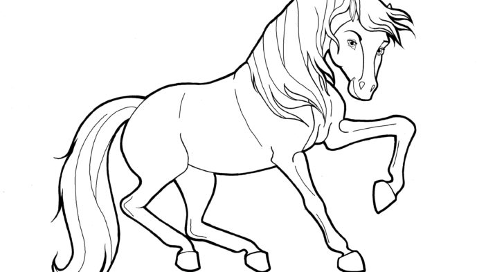 728x393 christmas horse coloring pages christmas coloring page