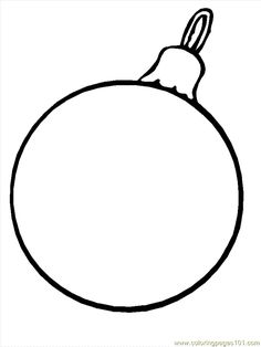 236x314 Get Free Christmas Bulb And Ornament Patterns For Scrapbooking