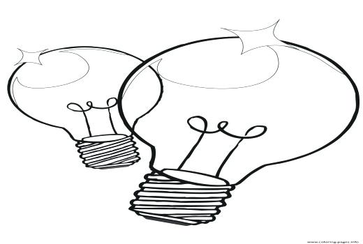 520x350 Christmas Lights Coloring Pages