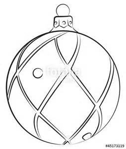 254x300 Christmas Bulb Drawing