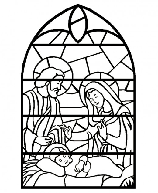 520x636 Online Christmas Nativity Printables Hubpages