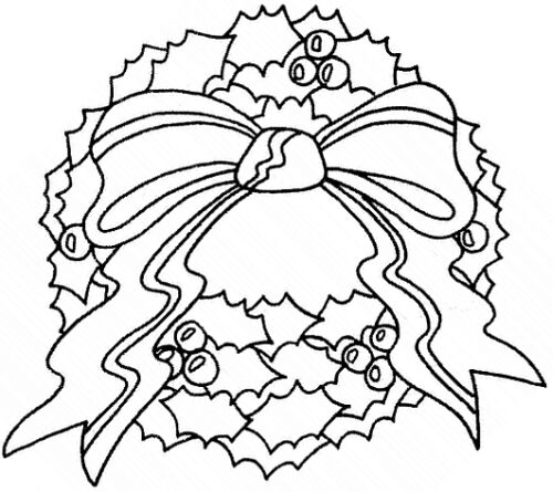 500x445 Christmas Wreath Clip Art Pictures And Coloring Pages,cookies