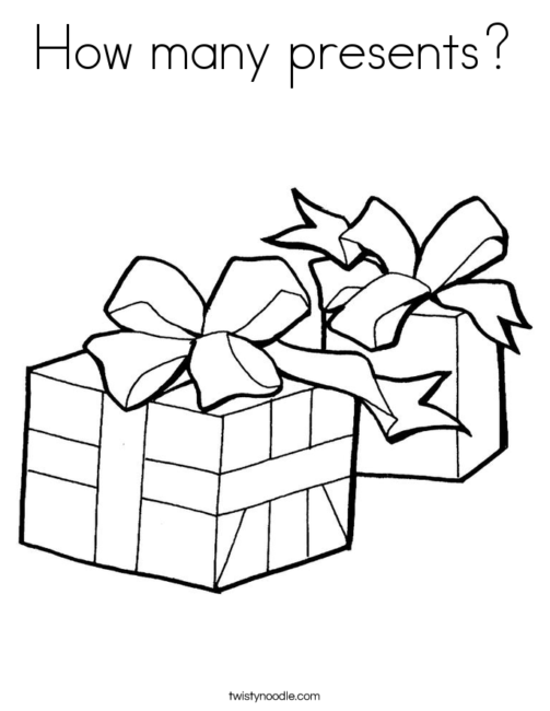 503x650 Christmas Gift Coloring Pages 6 Nice Coloring Pages For Kids