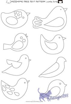 236x345 Bird Patterns. Gallery.ru Photo