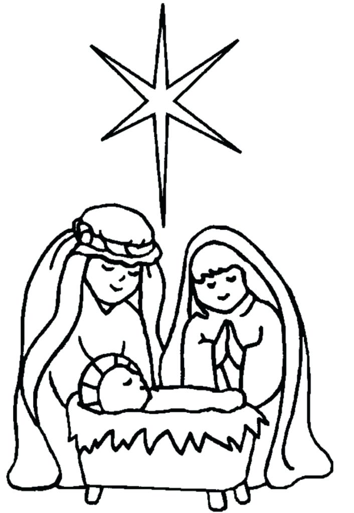 706x1024 Free Printable Nativity Coloring Pages Nativity Coloring Pages