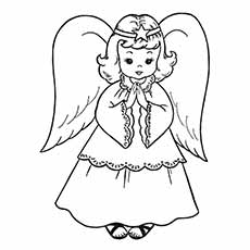 230x230 Top 10 Free Printable Nativity Coloring Pages Online
