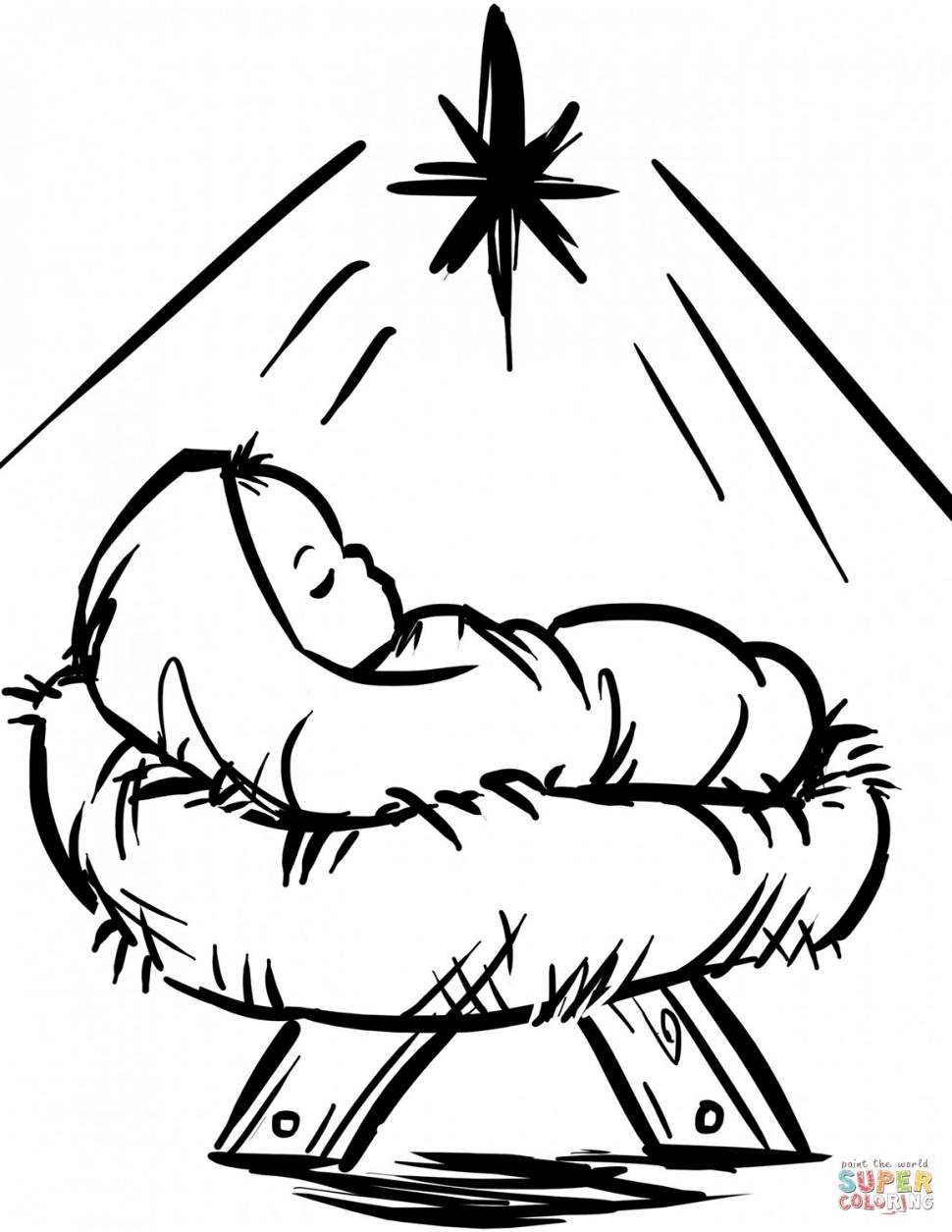 970x1255 Coloring Coloring Nativity Scene Book Incredible Photo