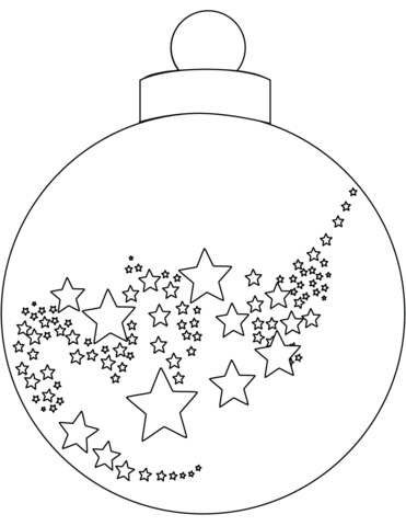 371x480 Christmas Ornament Coloring Page Free Printable Coloring Pages
