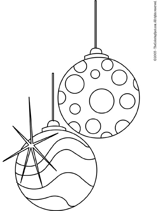540x720 Free Black And White Christmas Ornament Clipart