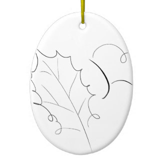 324x324 Line Drawing Sketch Ornaments Amp Keepsake Ornaments Zazzle