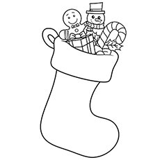 230x230 Top 10 Free Printable Christmas Ornament Coloring Pages Online