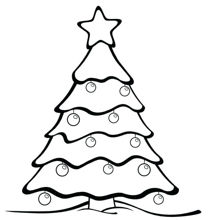 685x721 Christmas Ornament Coloring Page