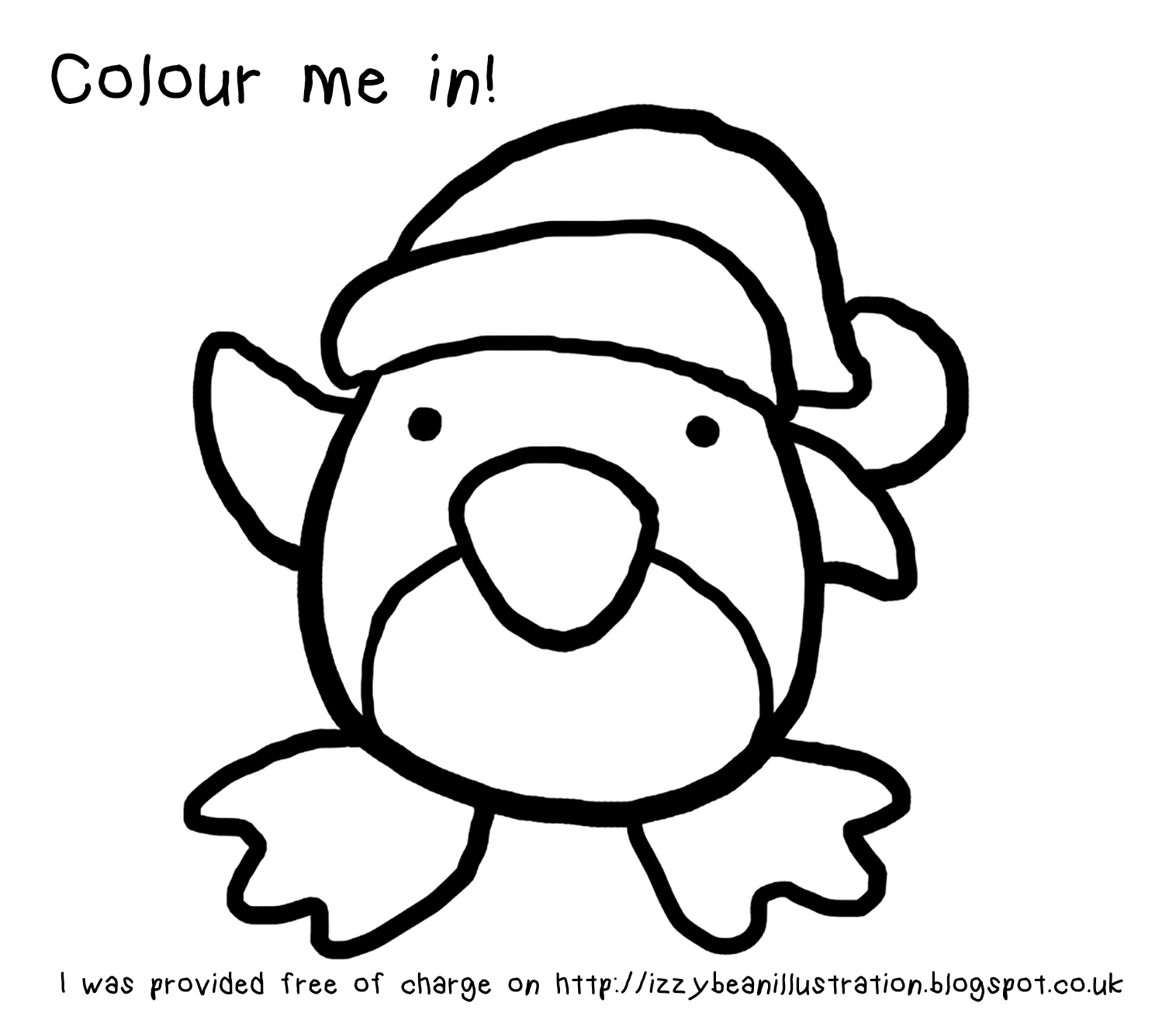 1516x1315 Drawing Of A Penguin And Colour Izzy Bean Illustrations How