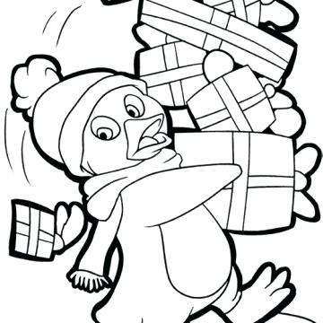 360x360 Penguin Coloring Pages Penguin Coloring Pages With Cute Penguin