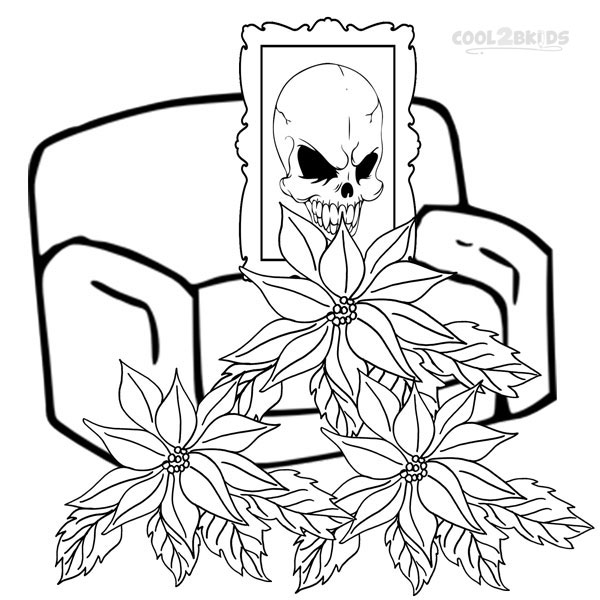 600x600 Printable Poinsettia Coloring Pages For Kids Cool2bkids