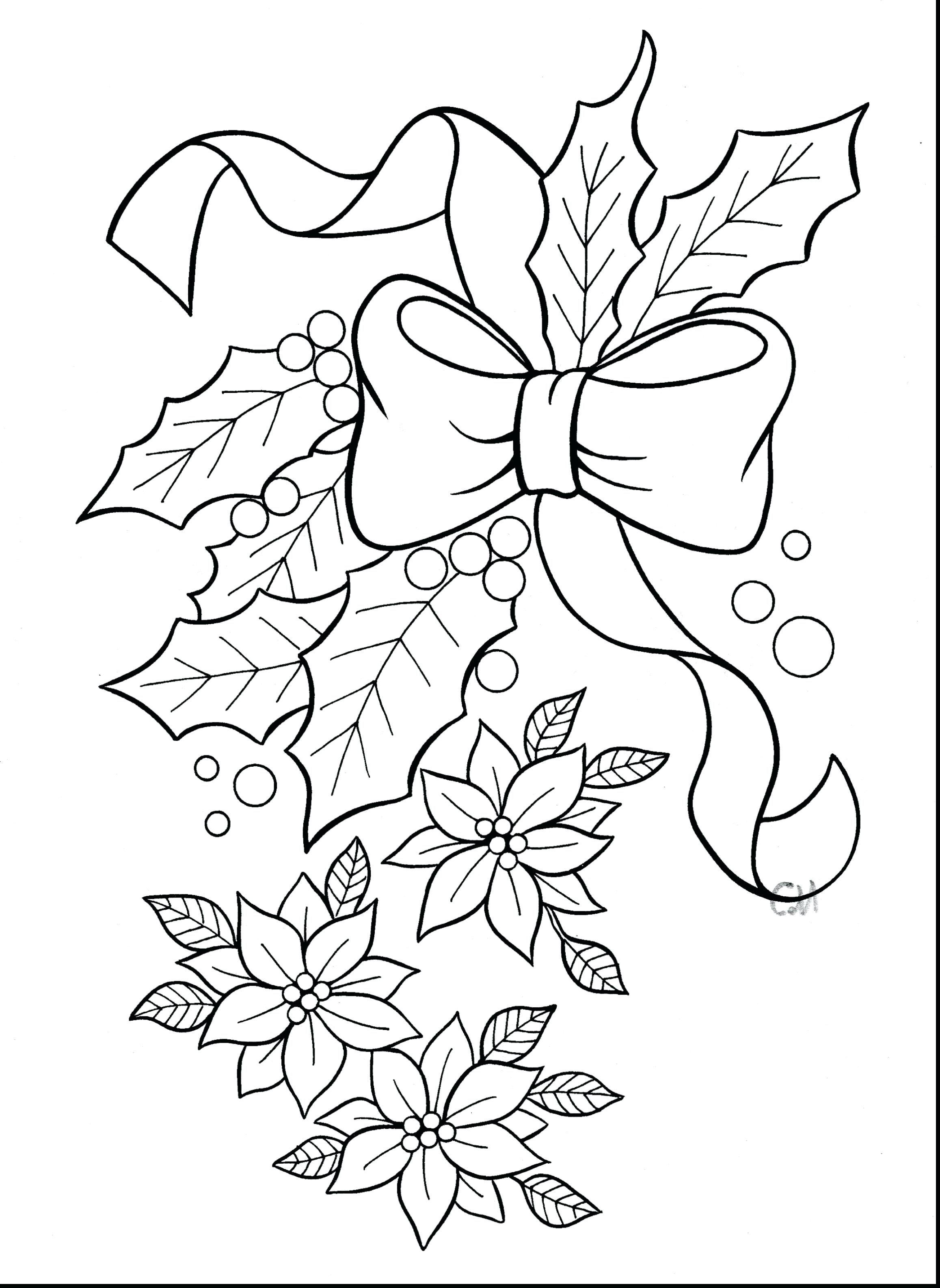 2315x3170 Coloring Christmas Wreaths Coloring Pages Wreath To Print