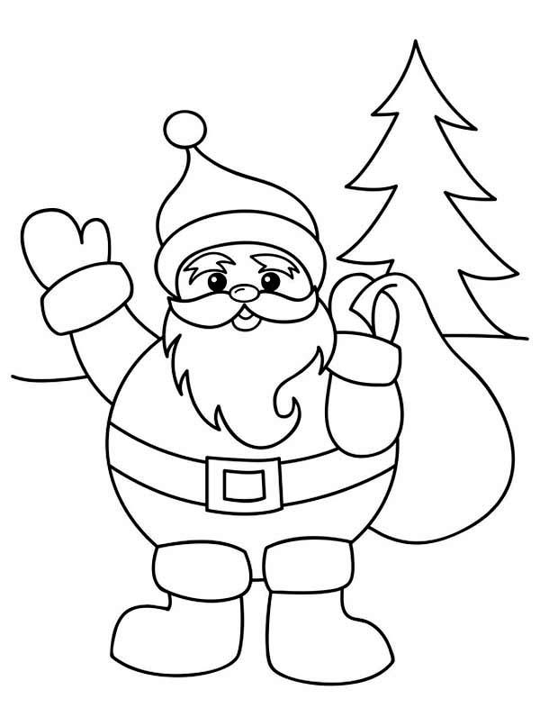 christmas santa drawing at getdrawings com free for personal use
