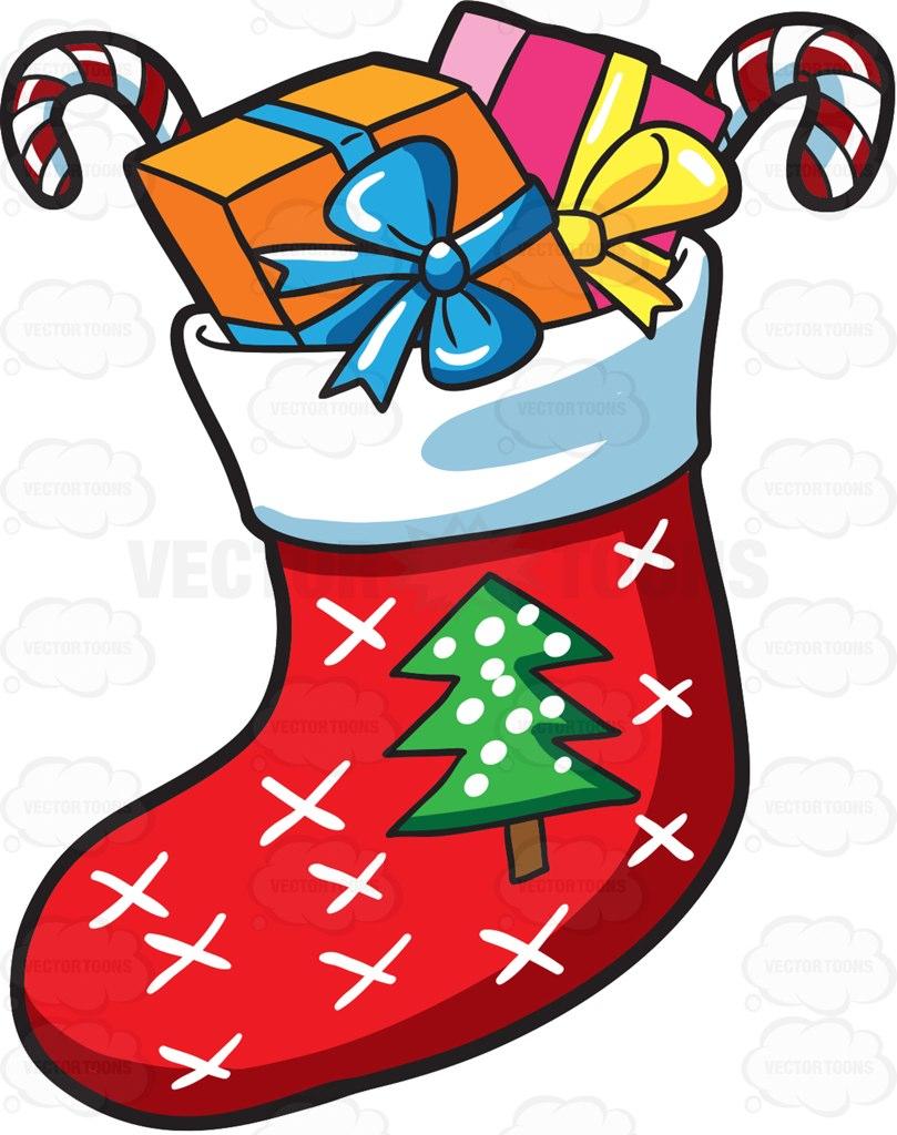Christmas Sock Drawing