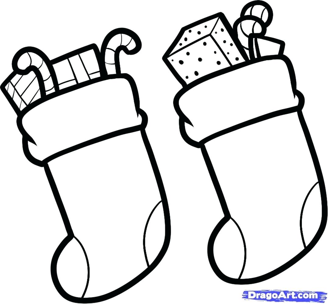 Christmas Socks Drawing at GetDrawings.com | Free for personal use ...