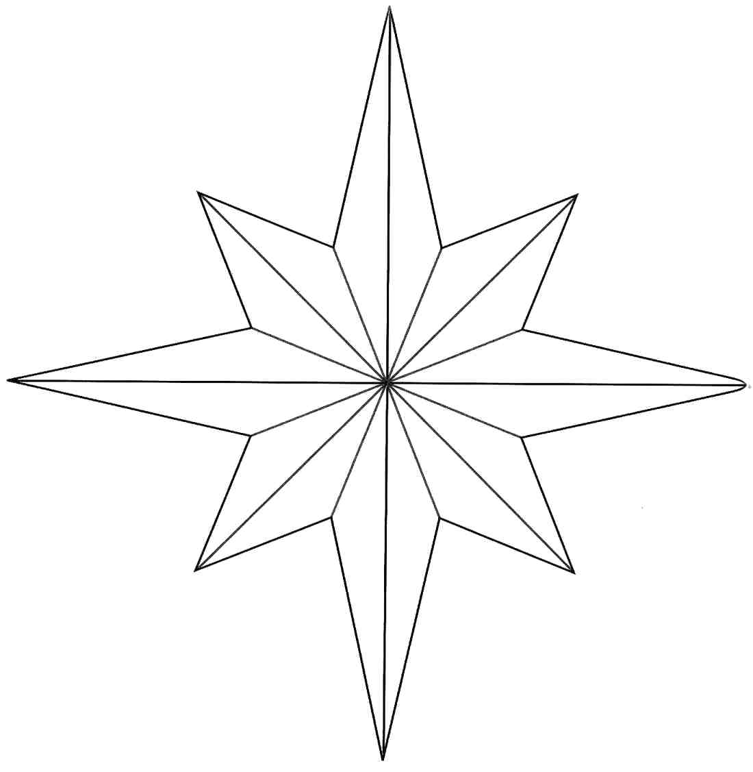 Christmas Star Drawing at GetDrawings.com | Free for personal use ...