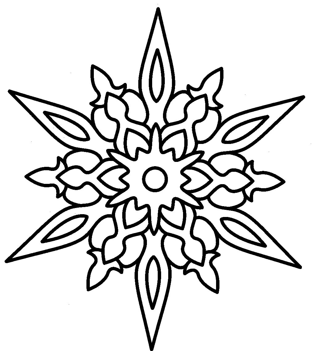 1040x1134 Christmas Star And Hard Earned Coloring Page