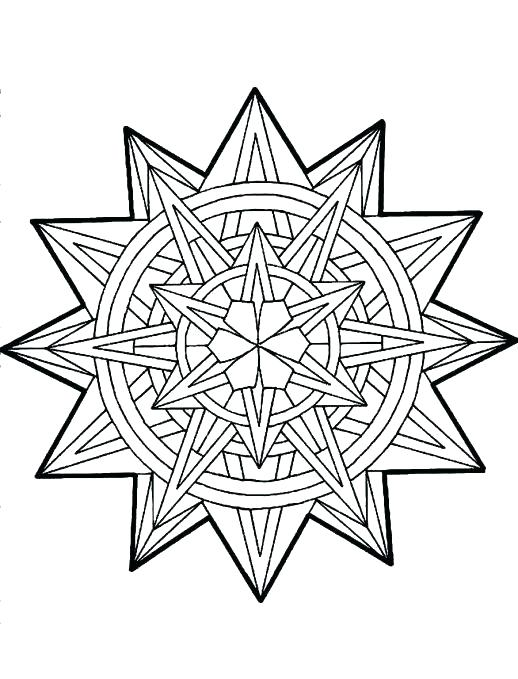 518x679 Christmas Star Coloring Page Tree Star Coloring Sheet Star