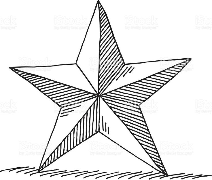 Christmas Stars Drawing