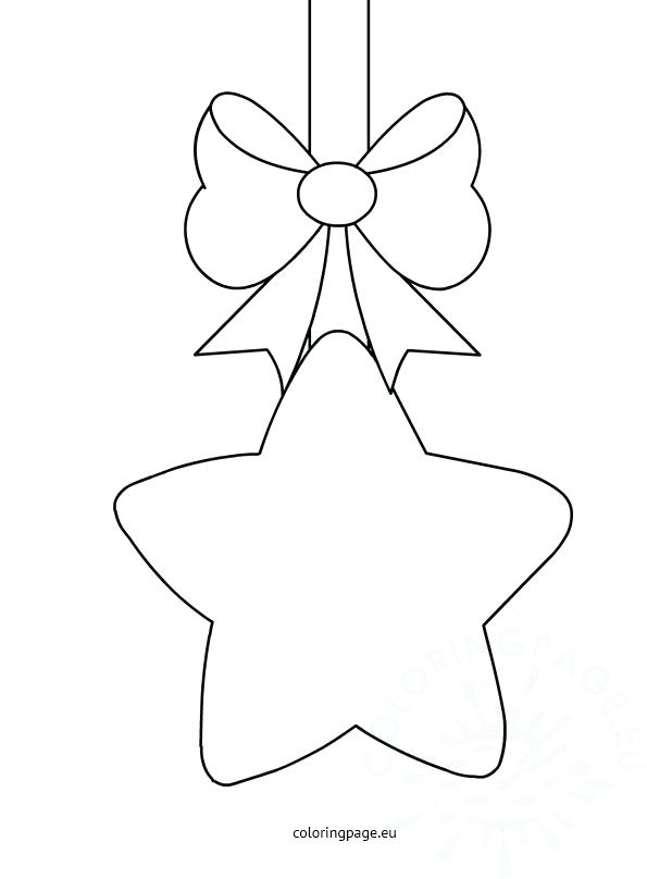 595x808 Christmas Star Coloring Page Mandala Stars Outline Pages