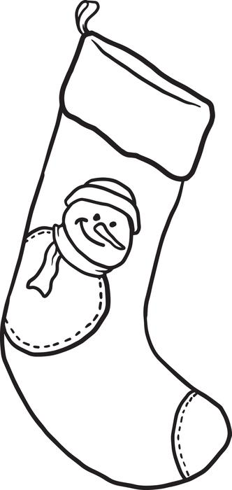 Christmas Stockings Drawing at GetDrawings.com | Free for personal ...