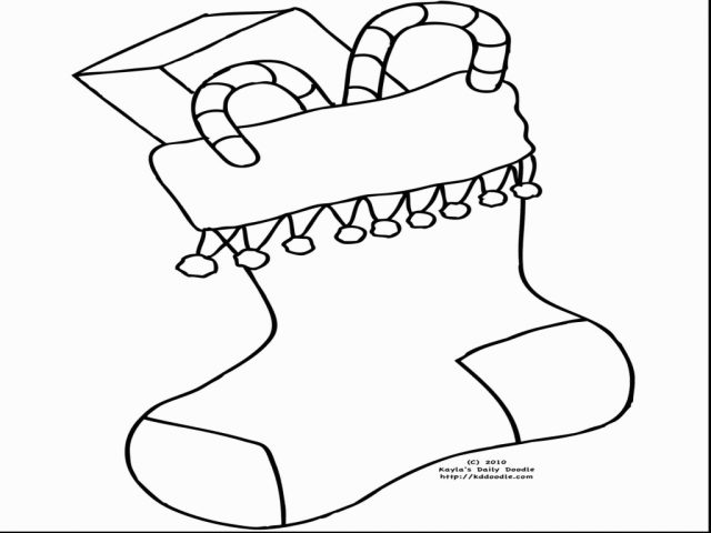 image relating to Stocking Printable identified as Xmas Stockings Drawing at  Totally free for