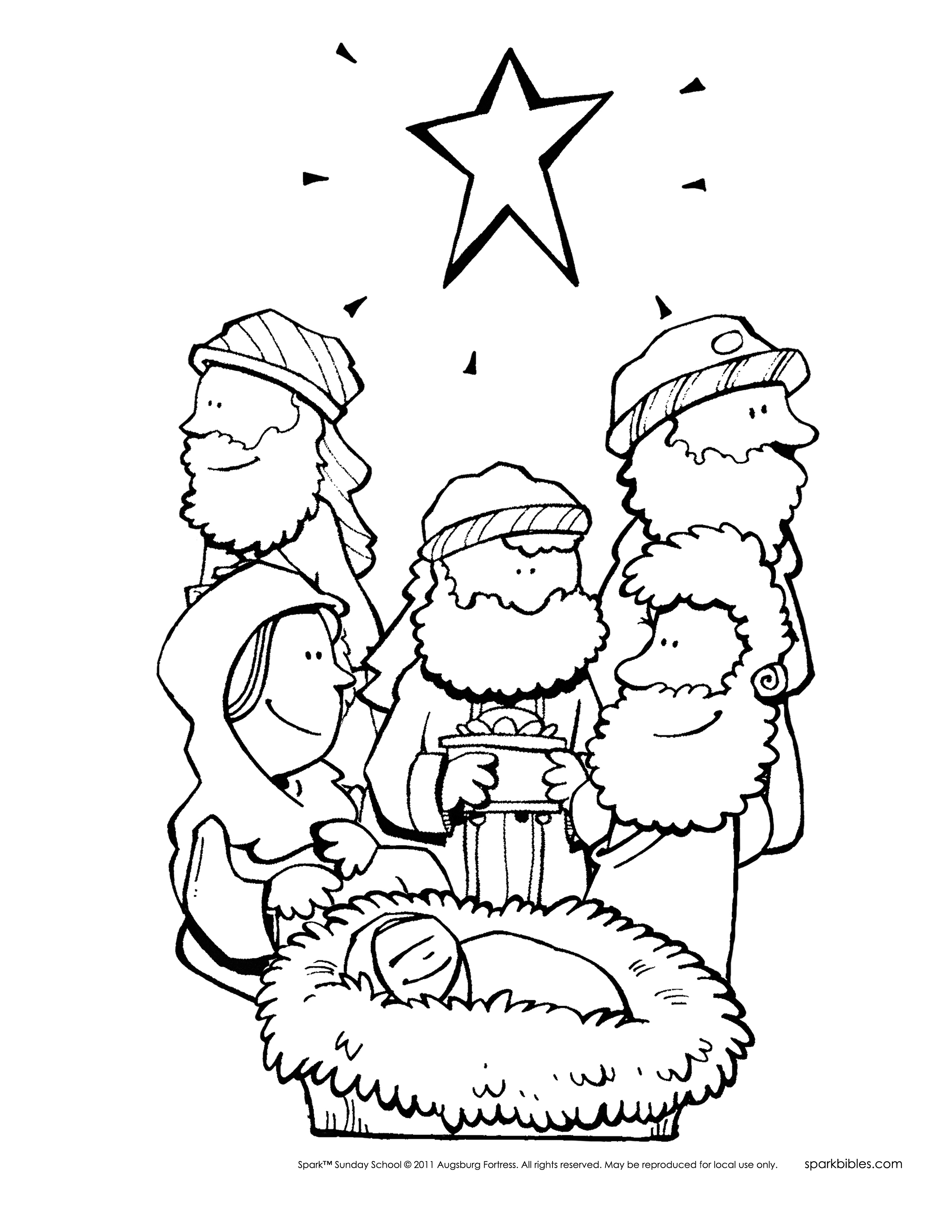 2550x3300 Christmas Story Coloring Pages