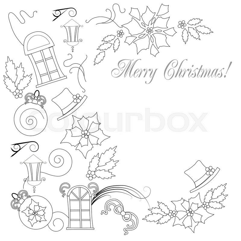 Fun2draw Christmas Tree: Christmas Things Drawing At GetDrawings