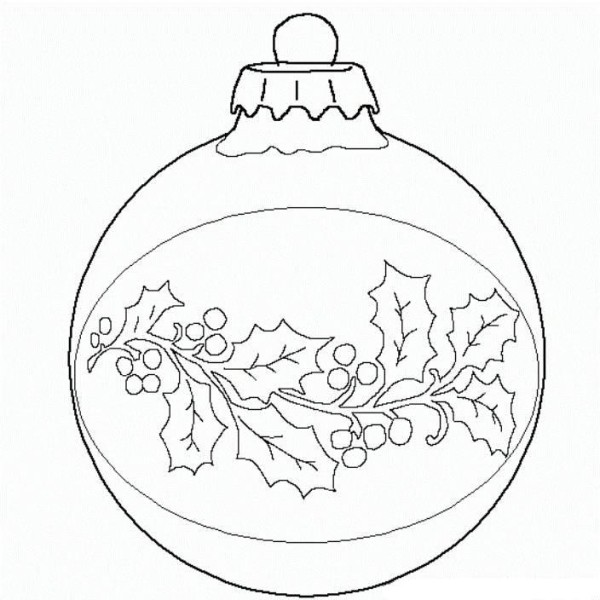 600x600 Christmas Ornament Drawings Christmas Tree Ornament Drawings