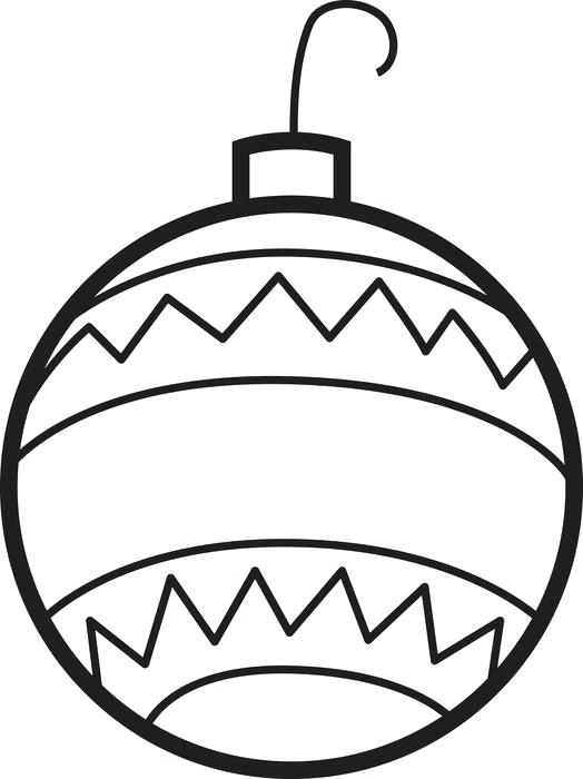 524x700 Christmas Tree Ornaments Coloring Pages Ornaments Coloring Pages