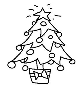 278x320 26 Best Merry Christmas Tree Drawing Images