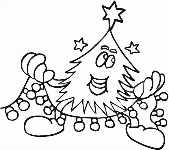Christmas Tree Drawing Designs