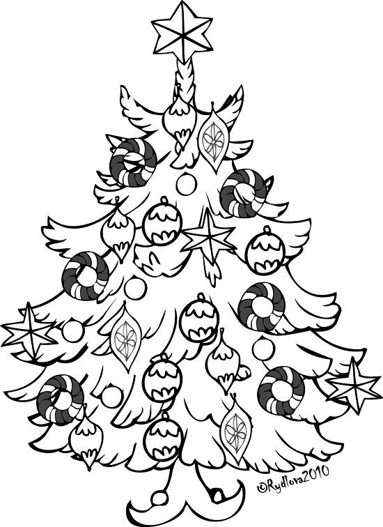 550x756 Christmas Tree