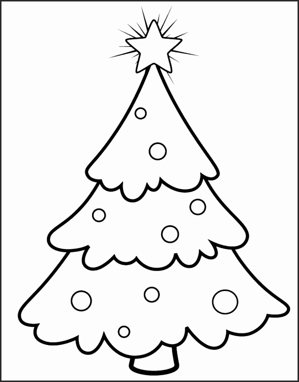 614x785 Simple Christmas Tree Outline Suk8e New 30 Christmas Tree Drawing