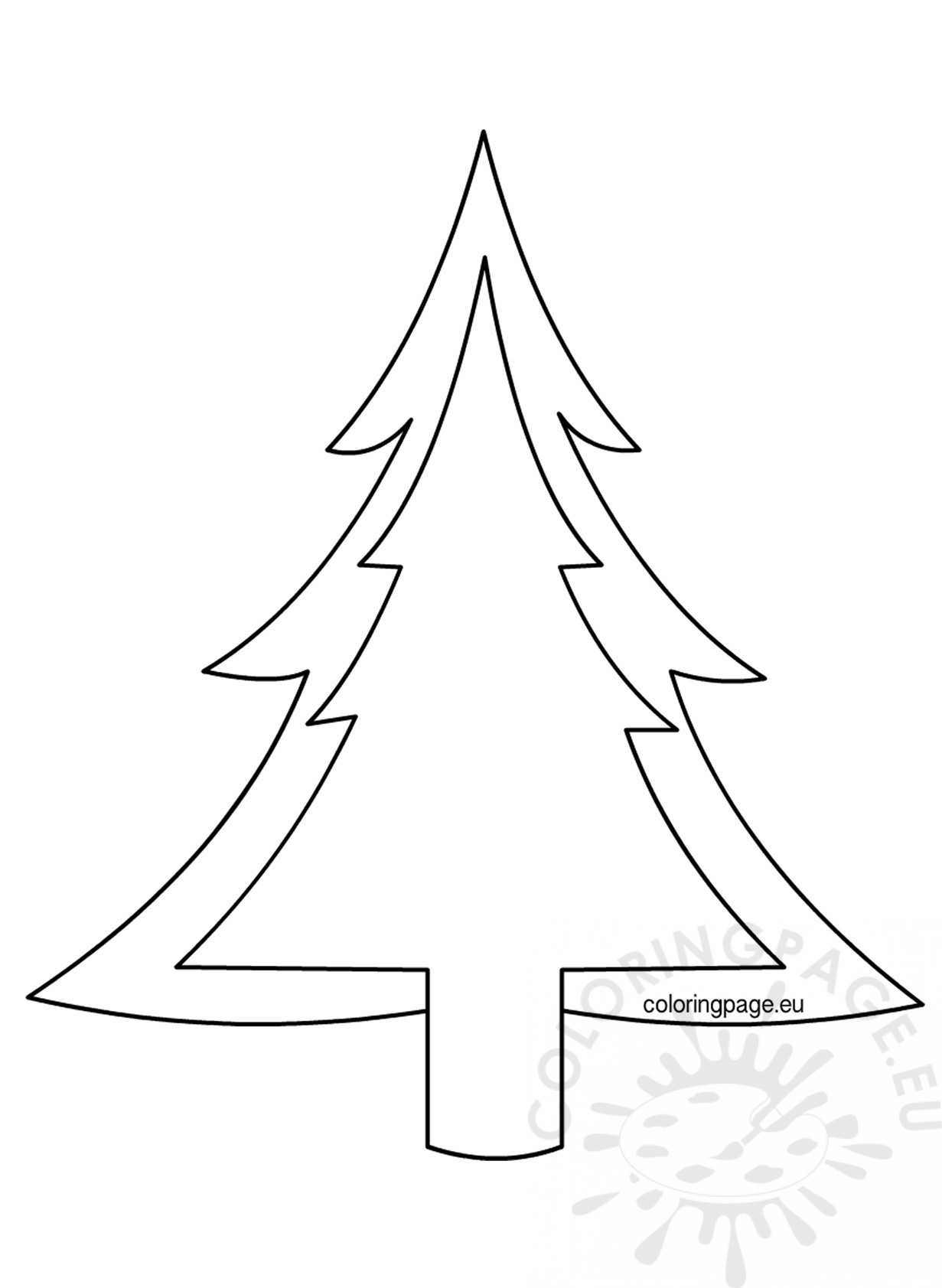 Christmas Tree Drawing Outline At Getdrawings Com Free For