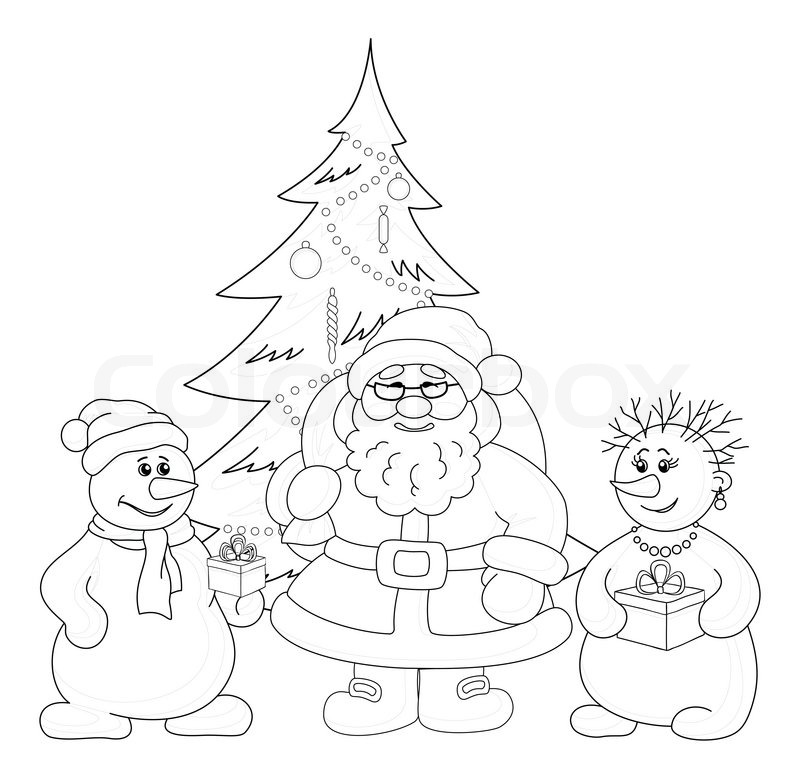 Christmas Celebration Images For Drawing.Christmas Tree Drawing Outline At Getdrawings Com Free For