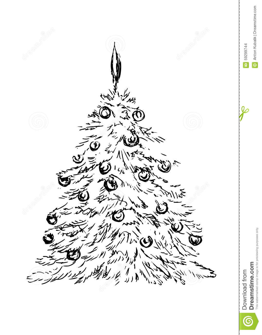 1019x1300 Gallery Christmas Tree Sketches,